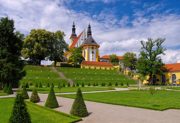 Neuzelle Kloster -  Monastery Neuzelle, Brandenburg, Germany