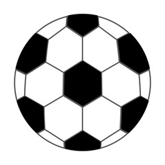 soccer  ball isolated icon design