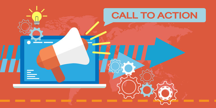 Web Marketing, Call to action