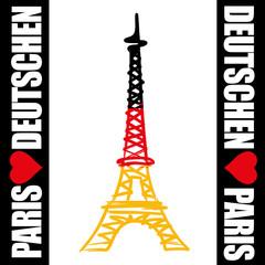 Tour Eiffel_Deutschen