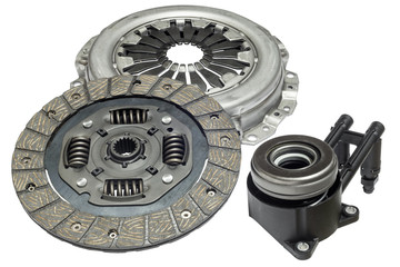 car clutch kit on a white background