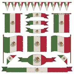 mexican flag decorations
