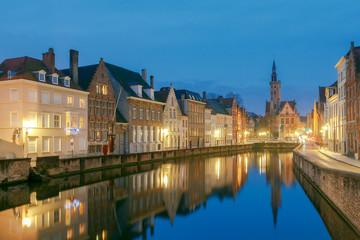 Bruges. Old city.