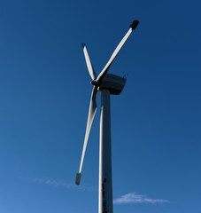Wind power station in Jeseniky mountains