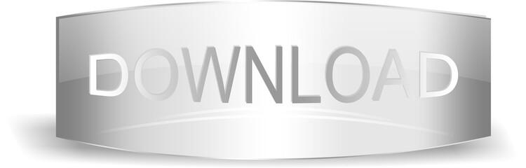 Silver download button