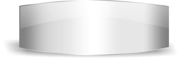 Silver glossy label