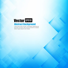 Abstract background light blue with basic geometry element vecto