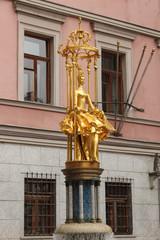 """Фонтан-скульптура """"Принцесса Турандот"""" на Старом Арбате"""