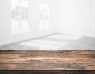 rustic wooden tabletop