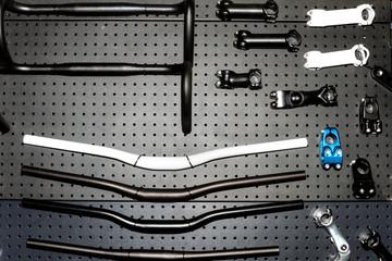 Handlebars and stem for  bikes
