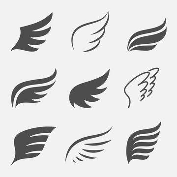 Wings vector set