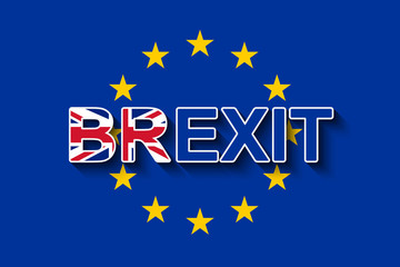 BREXIT & the flag of the EU