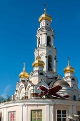 Great Zlatoust church or Maximilian church in Yekaterinburg, Russia