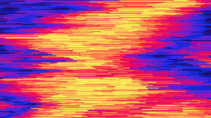 Vector striped background Surface distortion