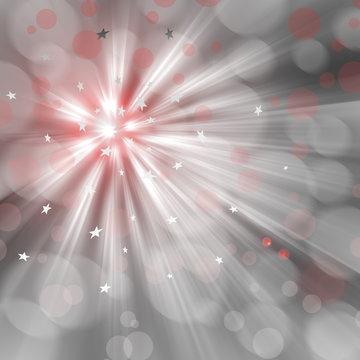 Lightburst background