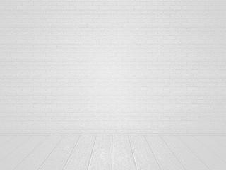 White Brick Room Backdrop