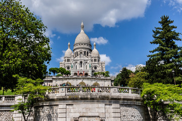 Basilica Sacre Coeur, Paris, France.