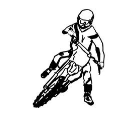 motocross vector design