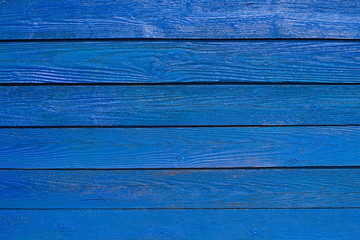 vintage blue wooden texture background