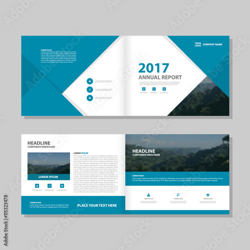 Blue vector business proposal leaflet brochure flyer template design blue vector business proposal leaflet brochure flyer template design book cover layout design abstract wajeb Choice Image
