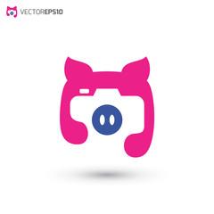 Photography Pig Logo