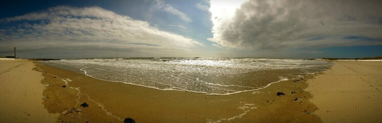 Panorama Meer Nordsee-Strand