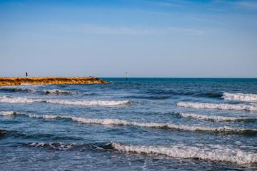 La mer aux Saintes Maries-de-le-Mer