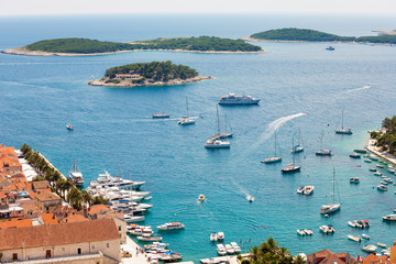 The bay of the Hvar