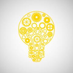 bulb energy light think creative