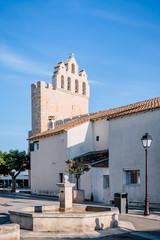 Église fortifiée Notre-Dame-de-la-Mer aux Saintes Maries-de-le-Mer et son clocher