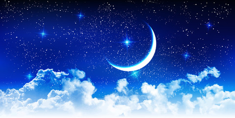 ハロウィン 夜空 星 背景