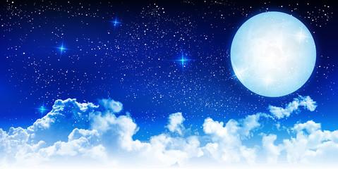 ハロウィン 夜空 月 背景