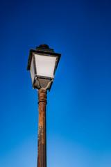 Le lampadaire ancien