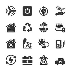 ecology icon set 8, vector eps10