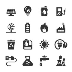 ecology icon set 6, vector eps10