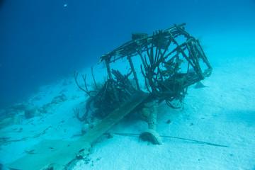 Unterwasser - Riff - Wrack - Flugzeugwrack - Tauchen - Curacao - Karibik