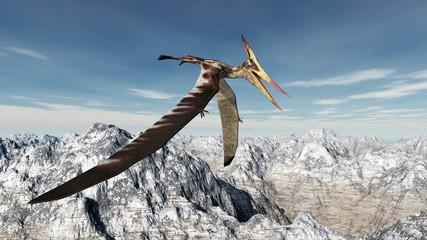 Flugsaurier Pteranodon