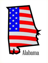 Alabama Stars and Stripes