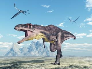 Tyrannotitan and Quetzalcoatlus