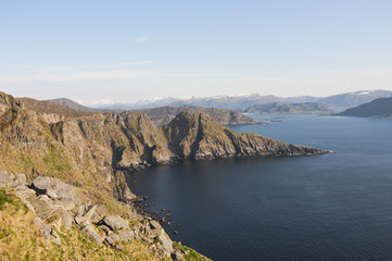 Norway, island Runde / Runde is an island in the municipality of Heroy in More og Romsdal county, Norway.