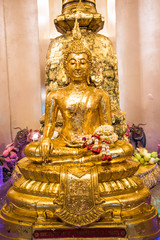 Buddhism Statue in Golden Mountain - Bangkok Thailand