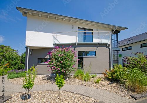 Einfamilienhaus - moderne Architektur\
