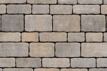 Pflastersteine - gepflasterter Weg