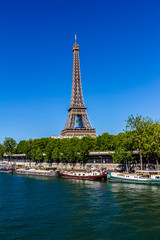 Tour Eiffel (Eiffel Tower), Champ de Mars in Paris,