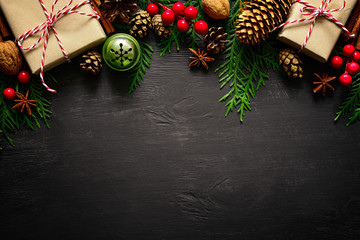 Christmas or New Year background Fototapete