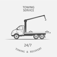 truck for towing and recovery
