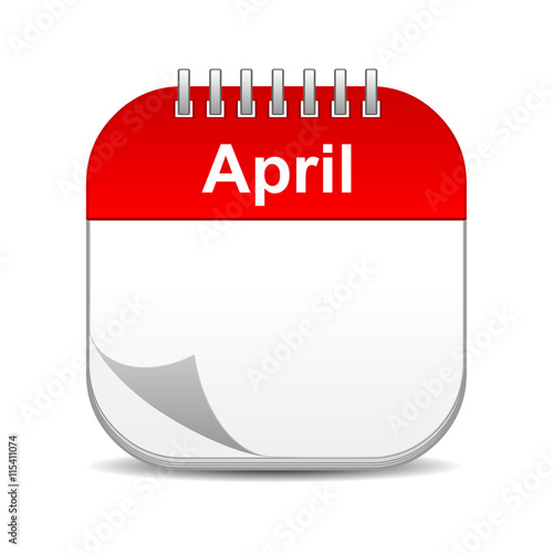 Xs Calendar April : Quot april calendar icon imagens e fotos de stock royalty