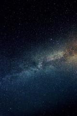 night sky stars / night photography starry sky summer countrysid