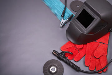 Tools and protective clothing for welding