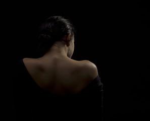 woman longing alone
